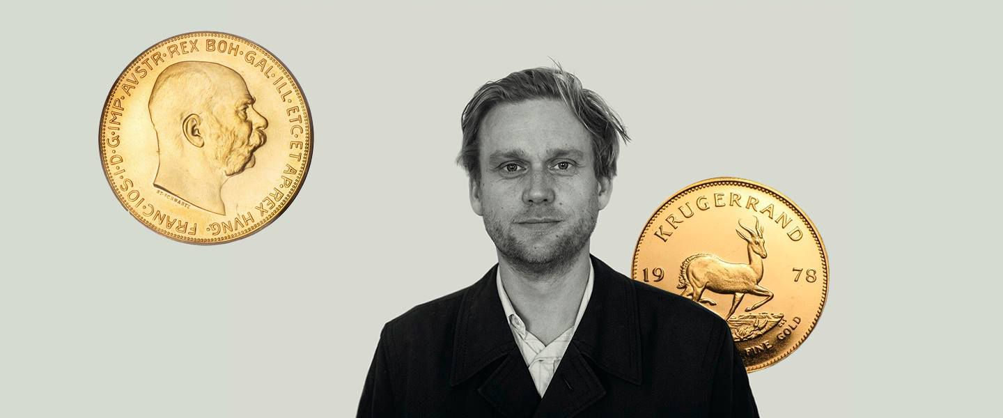 G((o))ng Tomorrow festival vil skubbe til grænserne for hvad musik og kunst kan</br>Niels Lyhne Løkkegaard uropfører sit nye værk 'Music for Krügerrand - quartet for gold bullion coins' på årets Gong Tomorrow.</br>Foto: Mike Højgaard