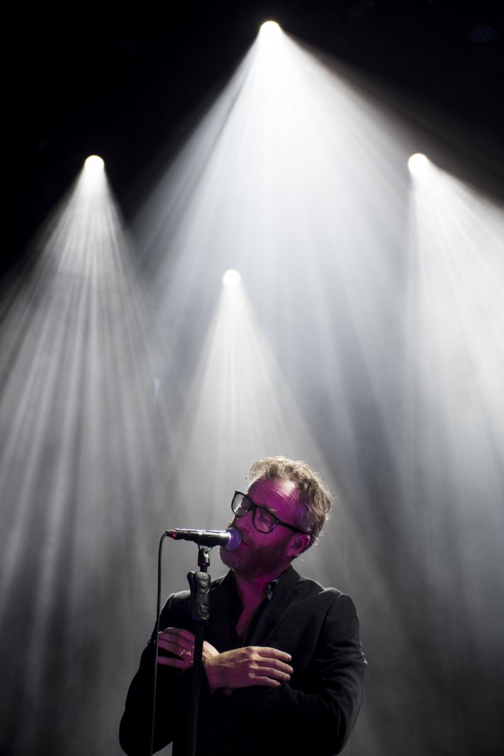 The National i nærkontakt med publikum på Northside</br></br>Foto: PR-foto / Northside - Mathias Bak Larsen