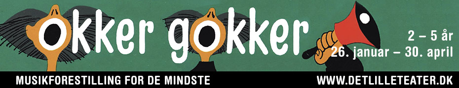 Det lille Okker Gokker megaboard