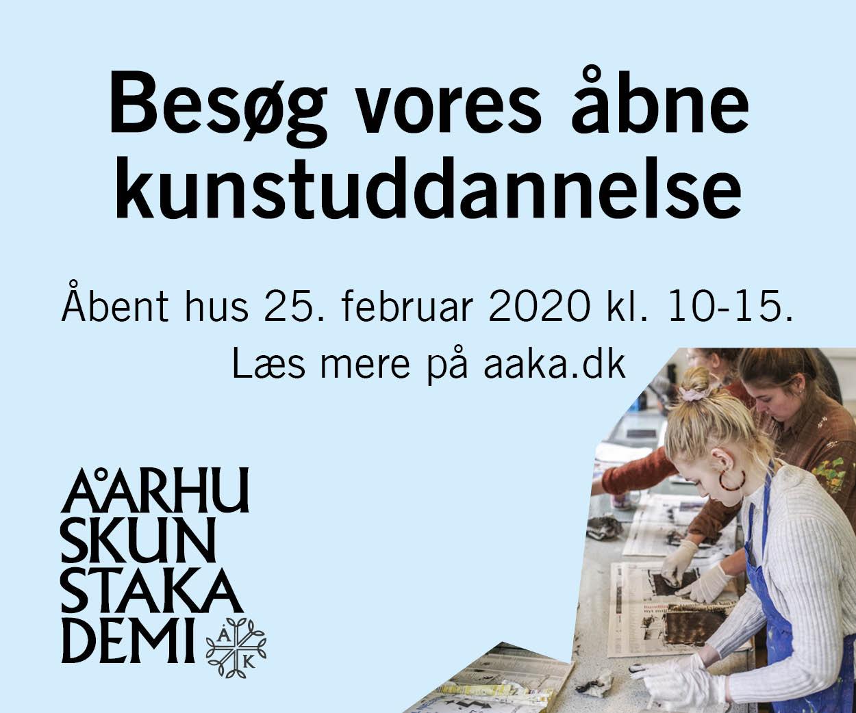 Aarhus Kunstakademi Åbent hus
