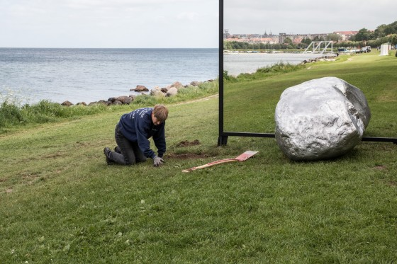 Aros Triennale The Garden, The present og The future billedserie</br>Alicja Kwase: Be-Hide, Aros Triennale The Garden.</br>Foto: Mariana Gil